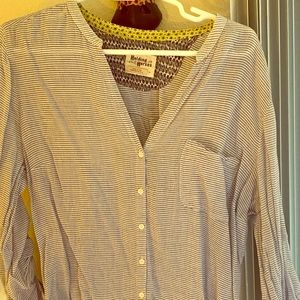 Anthropologie Holding Horse Striped Blouse